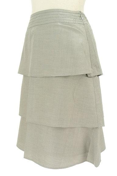 Rouge vif La cle(ルージュヴィフラクレ)の古着「ティアードフリル膝丈スカート(スカート)」大画像3へ