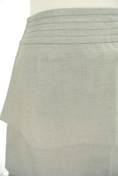Rouge vif La cle(ルージュヴィフラクレ)の古着「ティアードフリル膝丈スカート(スカート)」大画像4へ