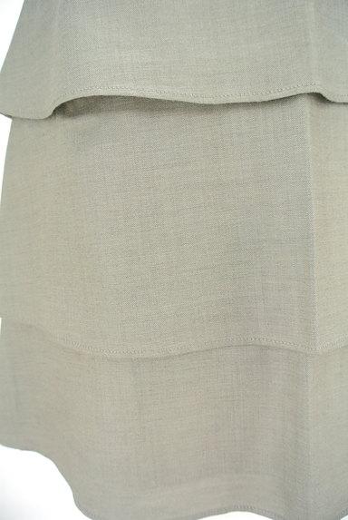 Rouge vif La cle(ルージュヴィフラクレ)の古着「ティアードフリル膝丈スカート(スカート)」大画像5へ