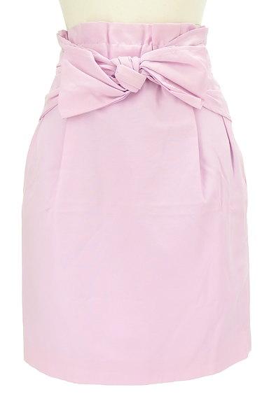 Rouge vif La cle(ルージュヴィフラクレ)の古着「ウエストリボンセミタイトスカート(スカート)」大画像1へ