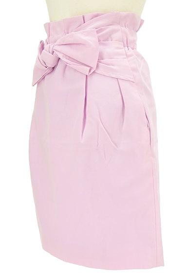 Rouge vif La cle(ルージュヴィフラクレ)の古着「ウエストリボンセミタイトスカート(スカート)」大画像3へ