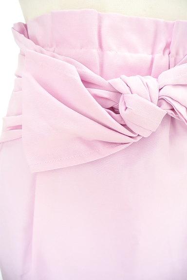 Rouge vif La cle(ルージュヴィフラクレ)の古着「ウエストリボンセミタイトスカート(スカート)」大画像4へ
