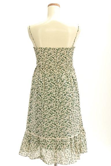 Rouge vif La cle(ルージュヴィフラクレ)の古着「膝下丈シアーキャミワンピース(キャミワンピース)」大画像2へ