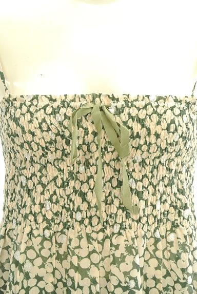 Rouge vif La cle(ルージュヴィフラクレ)の古着「膝下丈シアーキャミワンピース(キャミワンピース)」大画像4へ