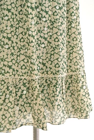 Rouge vif La cle(ルージュヴィフラクレ)の古着「膝下丈シアーキャミワンピース(キャミワンピース)」大画像5へ