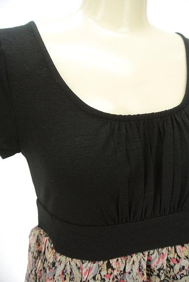 Rouge vif La cle(ルージュヴィフラクレ)の古着「シフォンバルーンワンピース(ワンピース・チュニック)」大画像4へ
