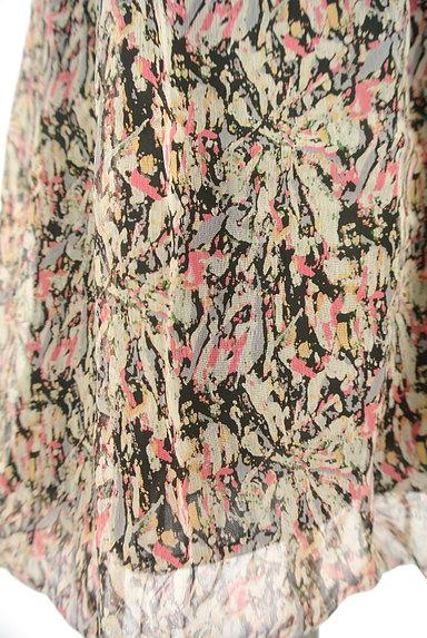 Rouge vif La cle(ルージュヴィフラクレ)の古着「シフォンバルーンワンピース(ワンピース・チュニック)」大画像5へ