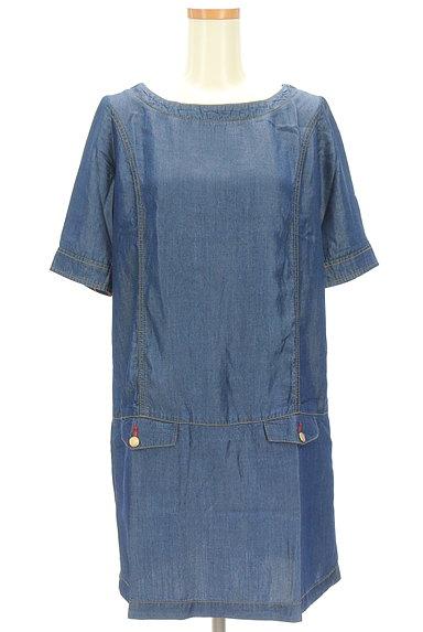 Rouge vif La cle(ルージュヴィフラクレ)の古着「サイドポケットワンピース(ワンピース・チュニック)」大画像1へ