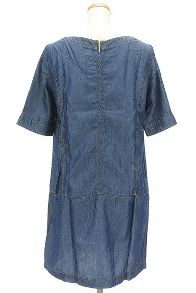 Rouge vif La cle(ルージュヴィフラクレ)の古着「サイドポケットワンピース(ワンピース・チュニック)」大画像2へ