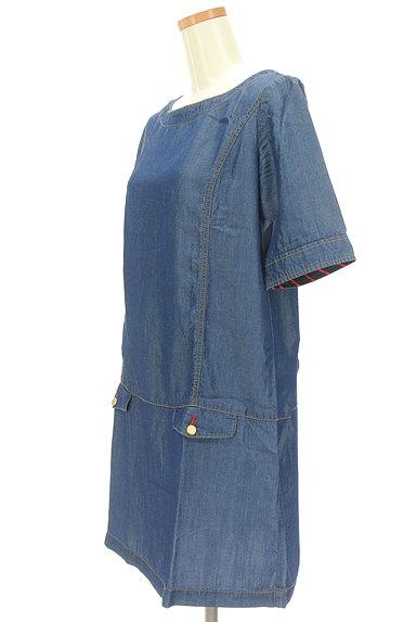 Rouge vif La cle(ルージュヴィフラクレ)の古着「サイドポケットワンピース(ワンピース・チュニック)」大画像3へ