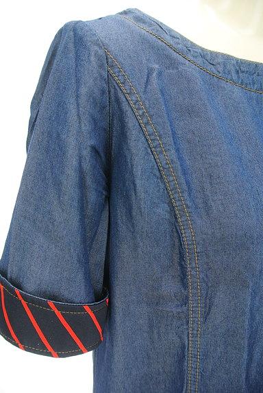 Rouge vif La cle(ルージュヴィフラクレ)の古着「サイドポケットワンピース(ワンピース・チュニック)」大画像4へ