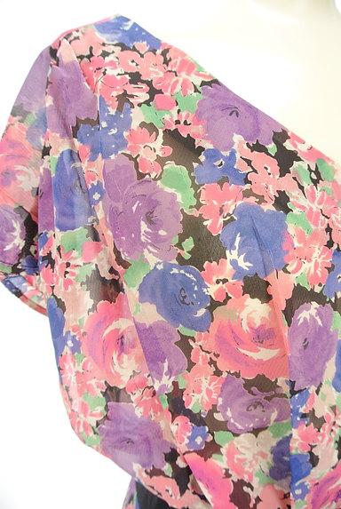 Rouge vif La cle(ルージュヴィフラクレ)の古着「花柄シフォンワンピース(ワンピース・チュニック)」大画像4へ