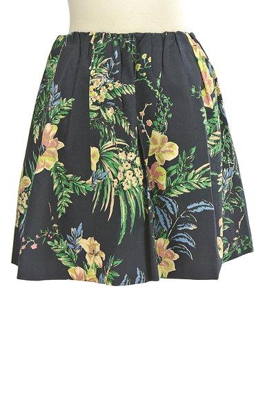 Rouge vif La cle(ルージュヴィフラクレ)の古着「リゾート柄コットンフレアミニスカート(ミニスカート)」大画像1へ