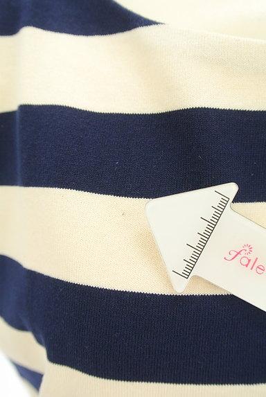 Rouge vif La cle(ルージュヴィフラクレ)の古着「フレンチスリーブボーダーワンピ(ワンピース・チュニック)」大画像5へ