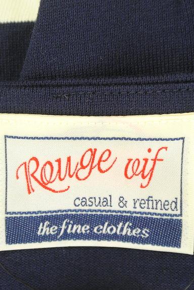Rouge vif La cle(ルージュヴィフラクレ)の古着「フレンチスリーブボーダーワンピ(ワンピース・チュニック)」大画像6へ