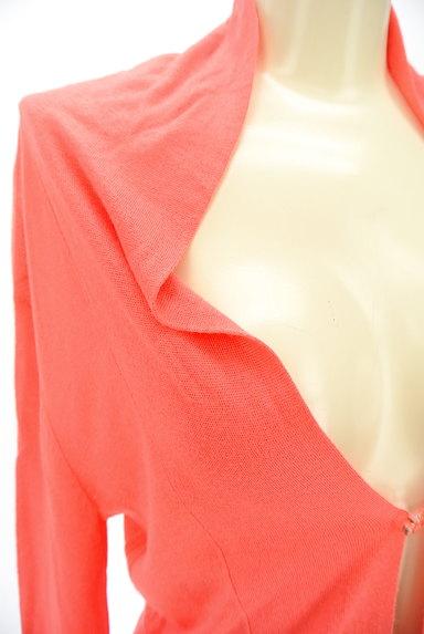 Rouge vif La cle(ルージュヴィフラクレ)の古着「ワンホックカーディガン(カーディガン・ボレロ)」大画像4へ