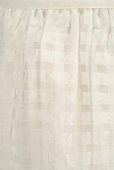 Rouge vif La cle(ルージュヴィフラクレ)の古着「シアーチェック柄膝丈スカート(ミニスカート)」大画像4へ