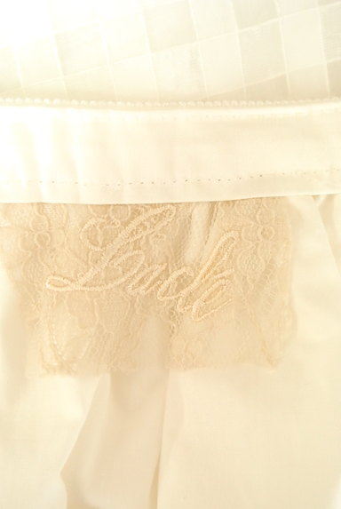 Rouge vif La cle(ルージュヴィフラクレ)の古着「シアーチェック柄膝丈スカート(ミニスカート)」大画像6へ