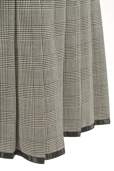 CLEAR IMPRESSION(クリアインプレッション)の古着「千鳥格子チェック柄膝丈プリーツスカート(スカート)」大画像5へ
