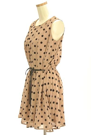 BEAMS Women's(ビームス ウーマン)の古着「フロッキードットワンピース(ワンピース・チュニック)」大画像3へ