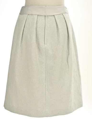 NATURAL BEAUTY(ナチュラルビューティ)の古着「ジャガードラメ膝丈コクーンスカート(スカート)」大画像2へ