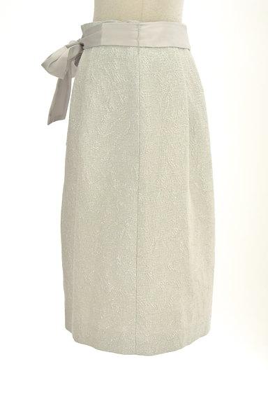 NATURAL BEAUTY(ナチュラルビューティ)の古着「ジャガードラメ膝丈コクーンスカート(スカート)」大画像3へ