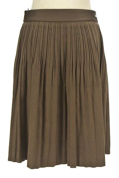 NATURAL BEAUTY(ナチュラルビューティ)の古着「ウエストリボンタックフレアスカート(スカート)」大画像2へ