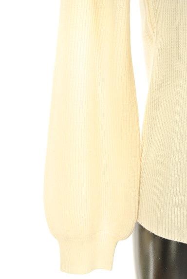 NATURAL BEAUTY(ナチュラルビューティ)の古着「シンプルタートルネックニット(ニット)」大画像5へ