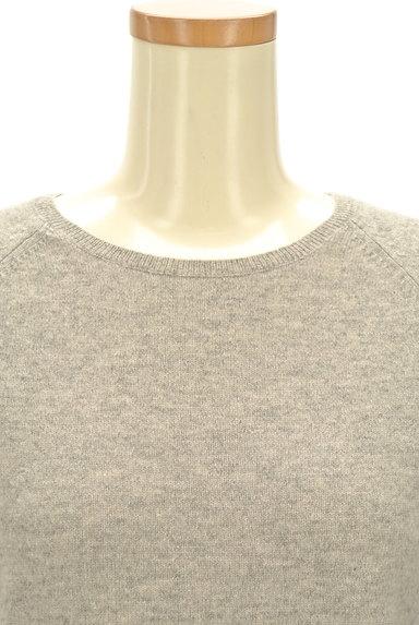 ROPE(ロペ)の古着「カシミヤクルーネックニット(ニット)」大画像4へ
