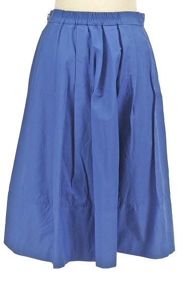 BABYLONE(バビロン)の古着「膝下丈タックフレアスカート(スカート)」大画像2へ