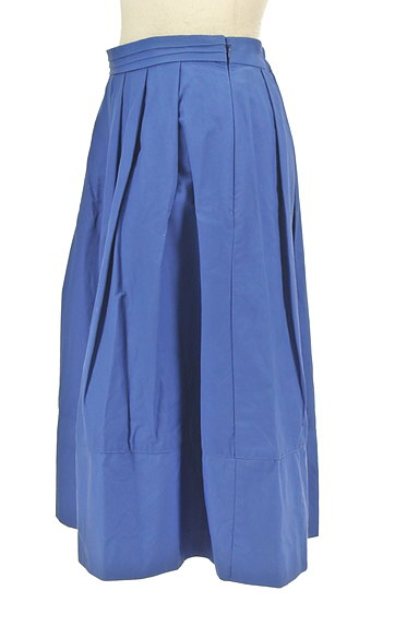 BABYLONE(バビロン)の古着「膝下丈タックフレアスカート(スカート)」大画像3へ