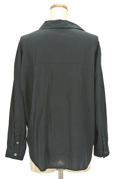 NATURAL BEAUTY(ナチュラルビューティ)の古着「薄手スキッパーシャツ(カジュアルシャツ)」大画像2へ