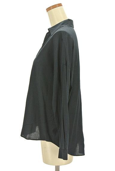 NATURAL BEAUTY(ナチュラルビューティ)の古着「薄手スキッパーシャツ(カジュアルシャツ)」大画像3へ