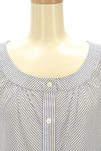 NATURAL BEAUTY(ナチュラルビューティ)の古着「フリル袖コットンブラウス(カットソー・プルオーバー)」大画像4へ