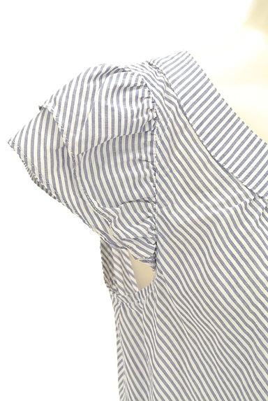 NATURAL BEAUTY(ナチュラルビューティ)の古着「フリル袖コットンブラウス(カットソー・プルオーバー)」大画像5へ