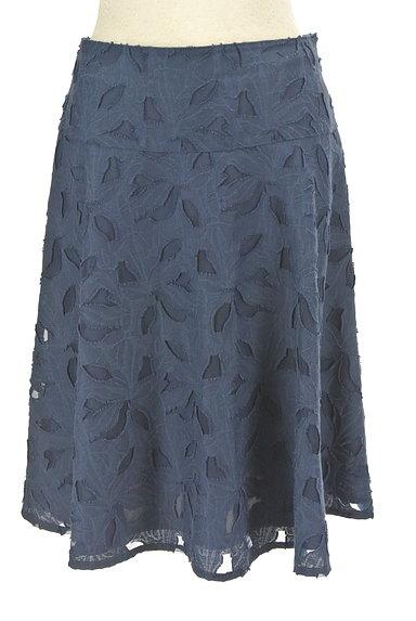 NATURAL BEAUTY(ナチュラルビューティ)の古着「膝下丈花柄フレアスカート(スカート)」大画像1へ