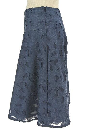 NATURAL BEAUTY(ナチュラルビューティ)の古着「膝下丈花柄フレアスカート(スカート)」大画像3へ