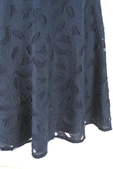 NATURAL BEAUTY(ナチュラルビューティ)の古着「膝下丈花柄フレアスカート(スカート)」大画像5へ