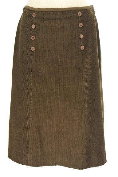 KEITH(キース)の古着「ダブルボタンコーデュロイスカート(スカート)」大画像1へ