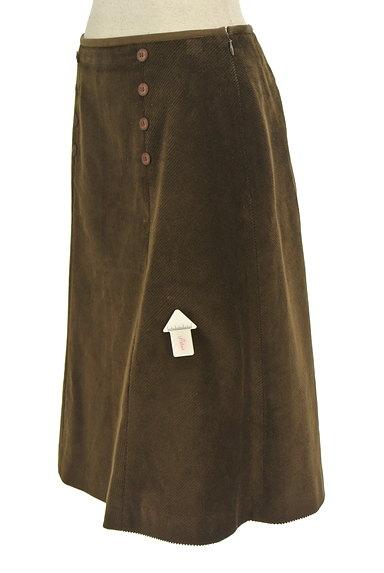 KEITH(キース)の古着「ダブルボタンコーデュロイスカート(スカート)」大画像4へ