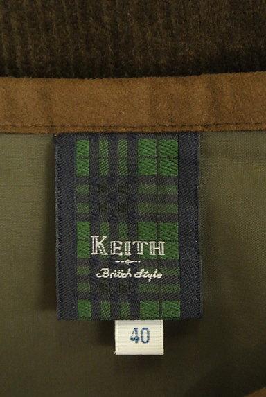 KEITH(キース)の古着「ダブルボタンコーデュロイスカート(スカート)」大画像6へ