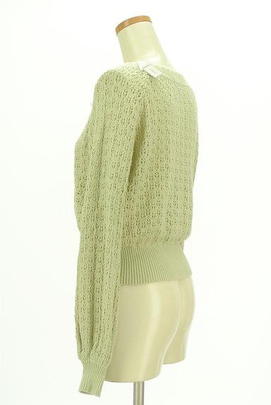 axes femme(アクシーズファム)の古着「ローゲージパイピングカーディガン(カーディガン・ボレロ)」大画像4へ
