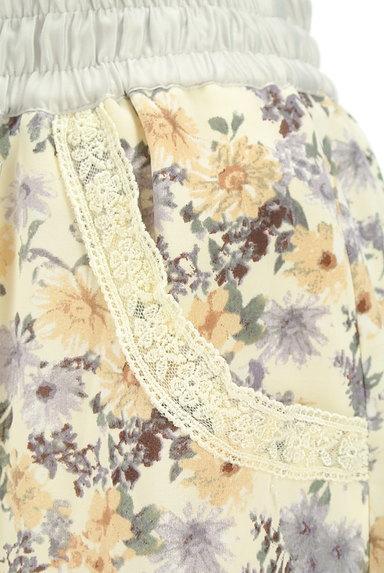 axes femme(アクシーズファム)の古着「花柄ワイドクロップドパンツ(パンツ)」大画像4へ
