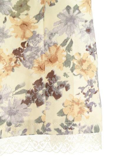 axes femme(アクシーズファム)の古着「花柄ワイドクロップドパンツ(パンツ)」大画像5へ