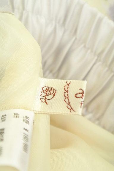 axes femme(アクシーズファム)の古着「花柄ワイドクロップドパンツ(パンツ)」大画像6へ