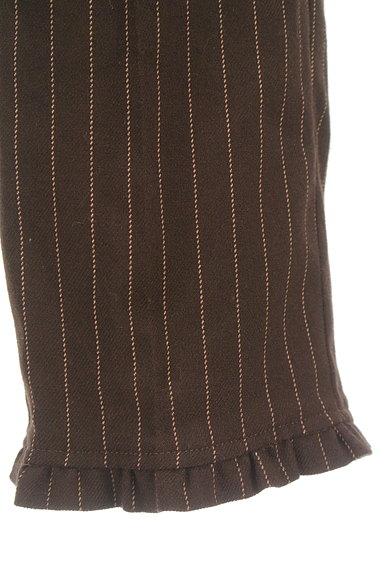 axes femme(アクシーズファム)の古着「裾フリルストライプ柄アンクル丈パンツ(パンツ)」大画像5へ