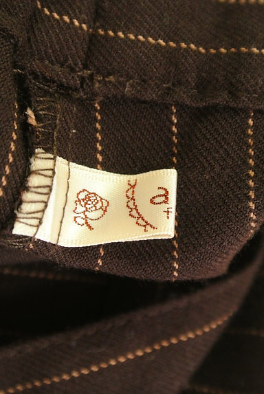 axes femme(アクシーズファム)の古着「裾フリルストライプ柄アンクル丈パンツ(パンツ)」大画像6へ
