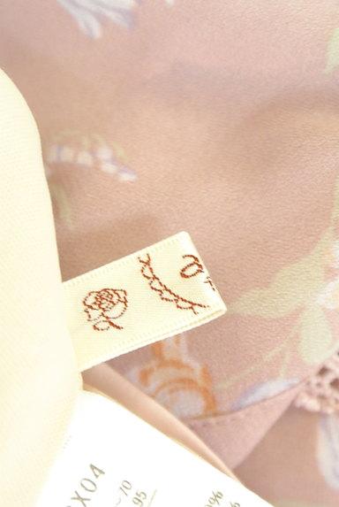 axes femme(アクシーズファム)の古着「花柄フェミニン膝下フレアーパンツ(パンツ)」大画像6へ