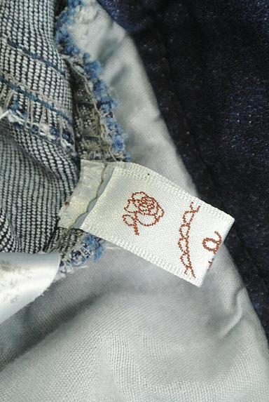 axes femme(アクシーズファム)の古着「刺繍入りストレートデニム(デニムパンツ)」大画像6へ