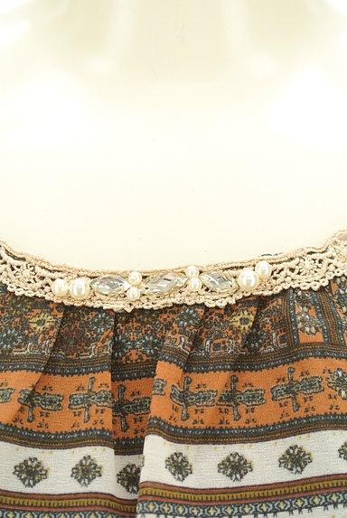 axes femme(アクシーズファム)の古着「アシンメトリーフリルブラウス(カットソー・プルオーバー)」大画像4へ